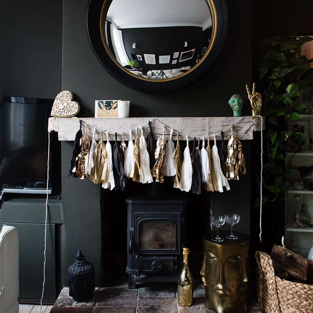How to Style and Make Your Own Christmas Garland