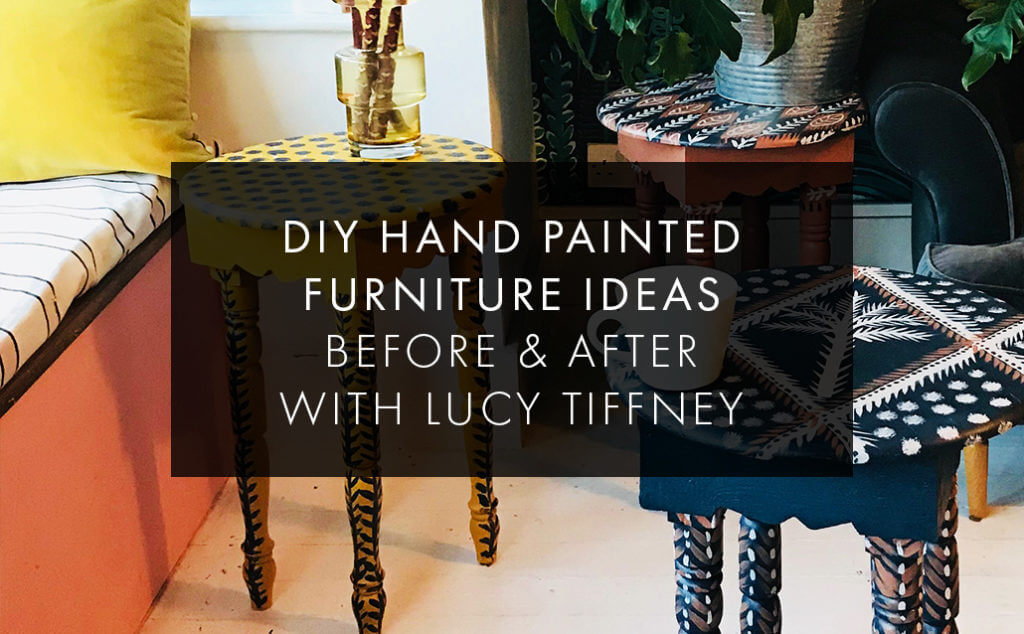 Diy Hand Painted Tables How To Guide With Artist Lucy Tiffney