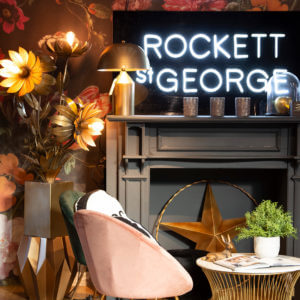 ROCKETT ST GEORGE AT LIBERTY LONDON - SS19 COLLECTION