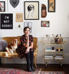 Pearl Lowe's First Own-Design Wallpaper Collection