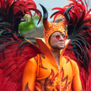 ELTON JOHN'S OUTFITS FROM HIT FILM, 'ROCKETMAN' - GET THE LOOK