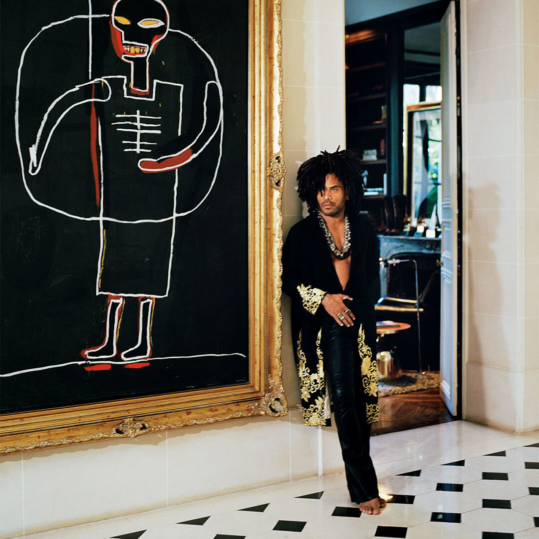 The Home of Lenny Kravitz | Get The Look