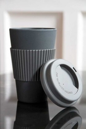 dark grey reusable cup with lid christmas stockings ideas for adults