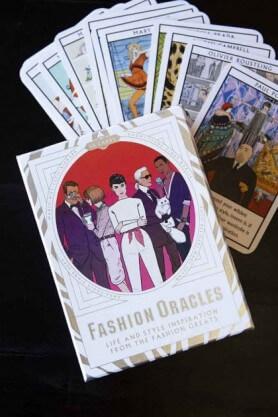 fashion advice cards stocking filler idea for fashion lovers