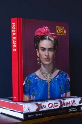 a book on the Frida Kahlo exhibition at the V&A