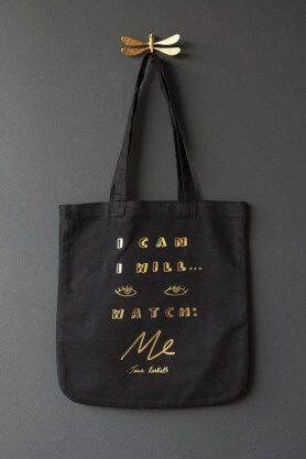 motivational quote tote bag stocking filler gift idea for adults
