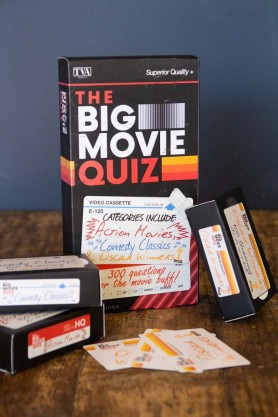 movie quiz is a great adult stocking filler idea