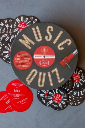 music quizzes are brilliant christmas stocking ideas for adults