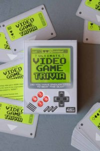 lifestyle image of video game trivia game