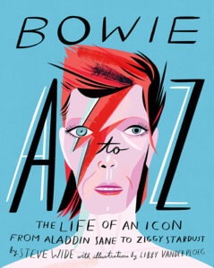 cut out image of Bowie A To Z: The Life Of An Icon From Aladdin Sane To Ziggy Stardust Novelty Christmas Stocking Filler Idea