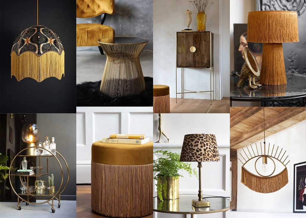 Get the look - Interior Design Trends 2020 1920's glamour