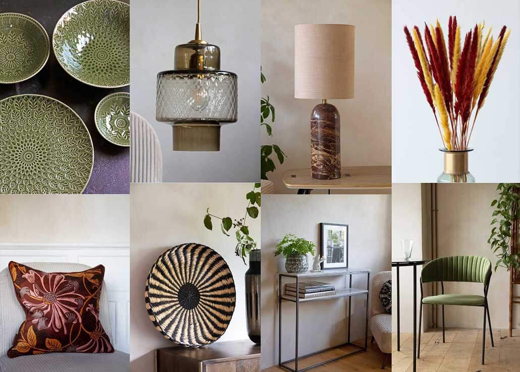 Get The Look Interior Design Trends for 2020 featuring Natural textures