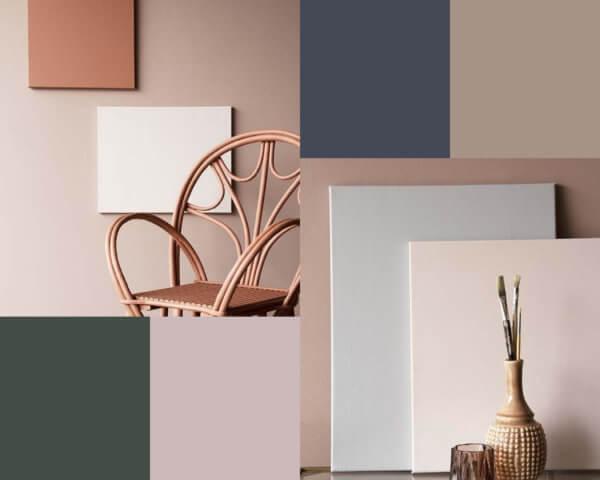 Selection of Rocket St George neutral paint colours