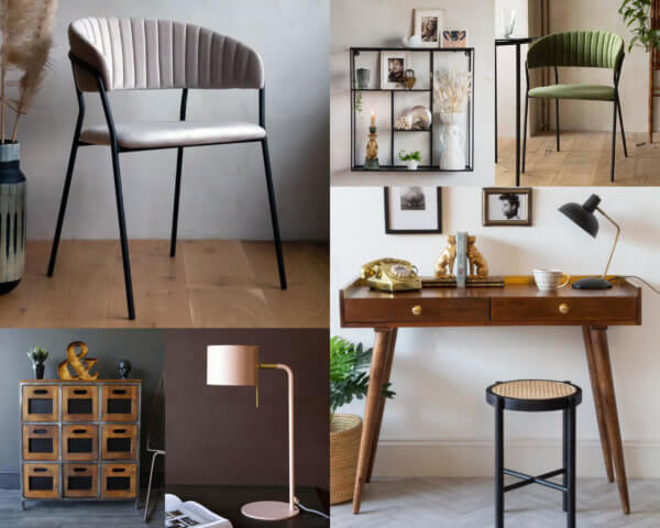 Selection of Rockett St George products for home office