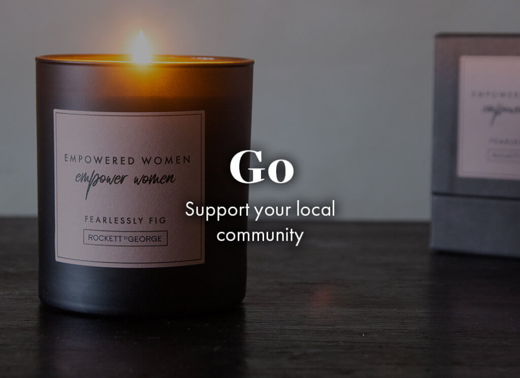 Go: support your local community