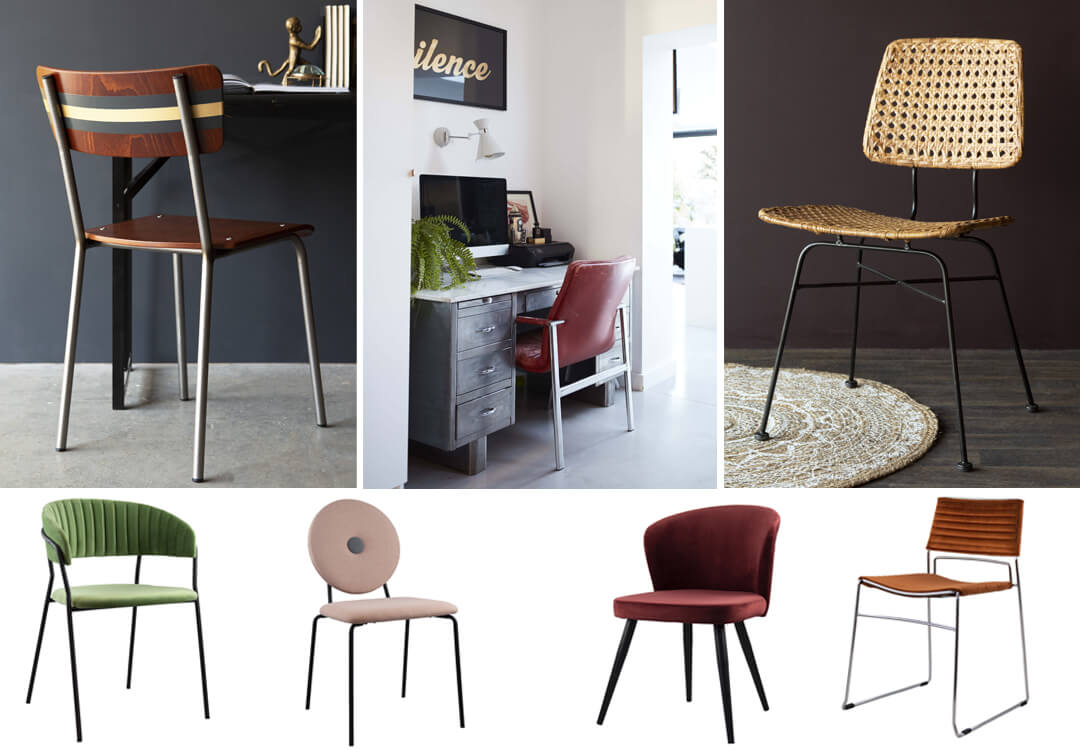 lifestyle images of chairs for stylish home office spaces