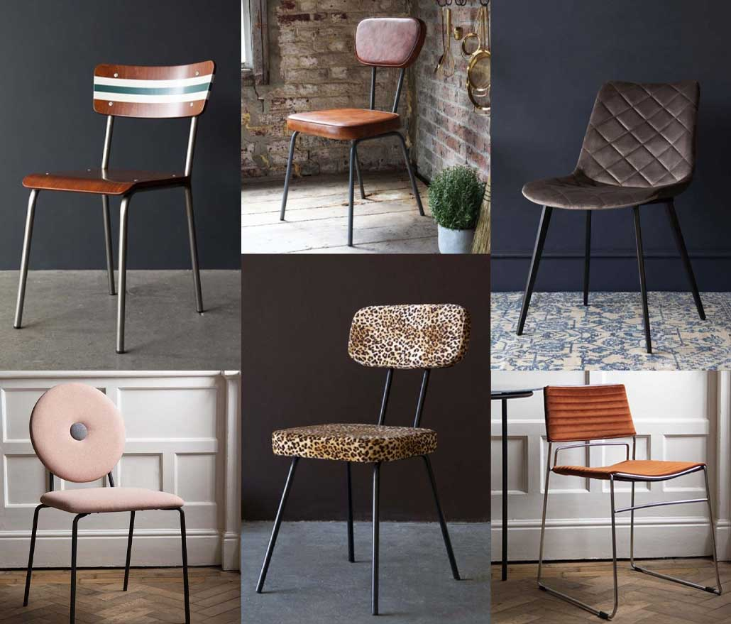 Selection of chairs for a home office