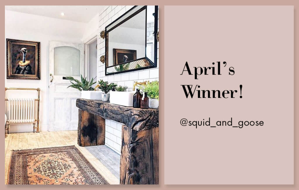 april competition winner
