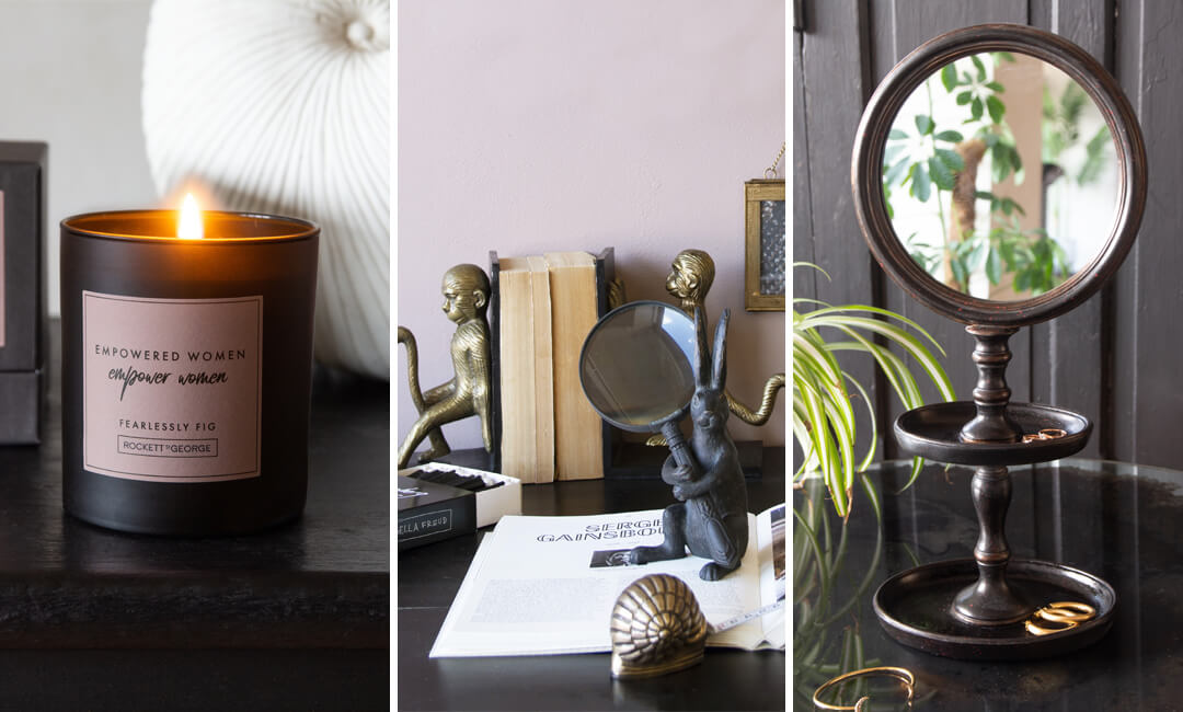 lifestyle images of desk accessories