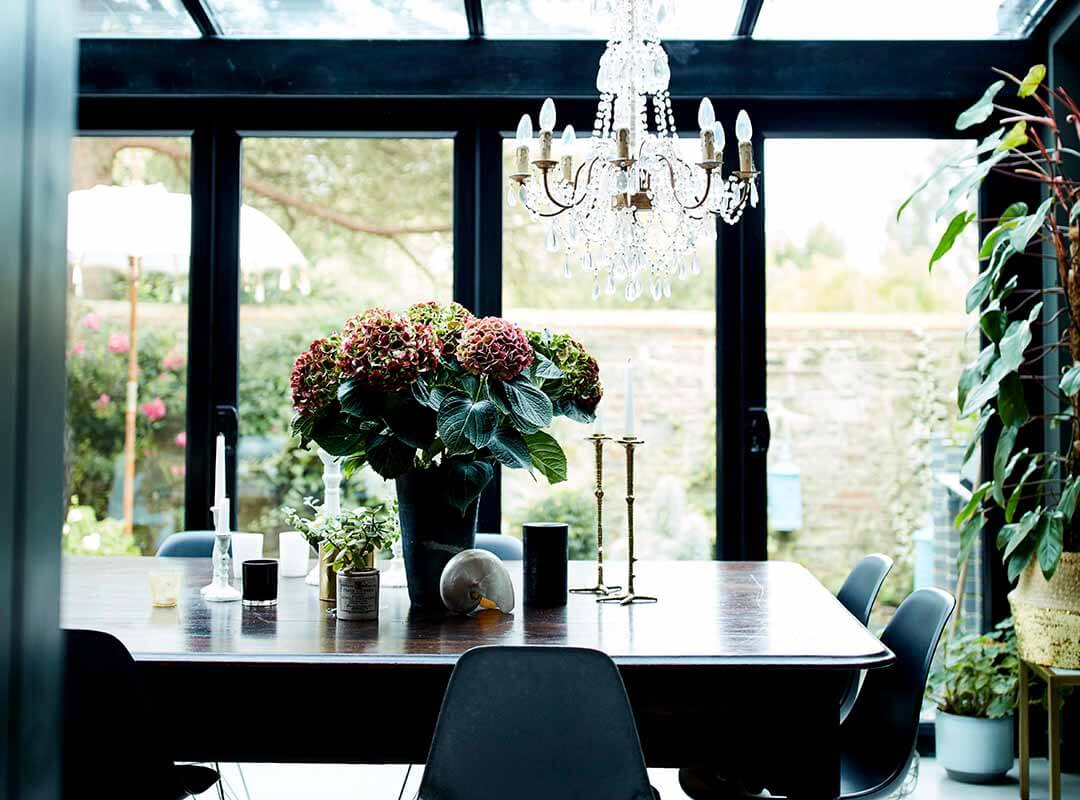 garden room decorating ideas dining room