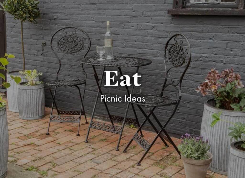 Eat: Picnic ideas for your outdoor space