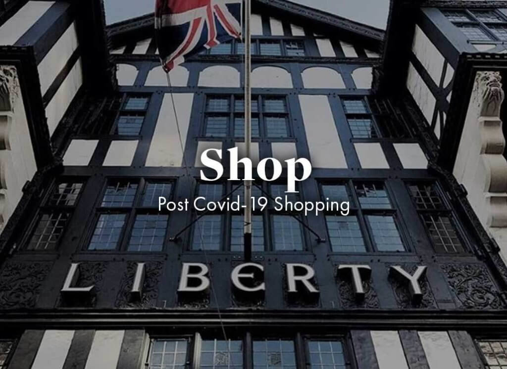 the front of liberty london