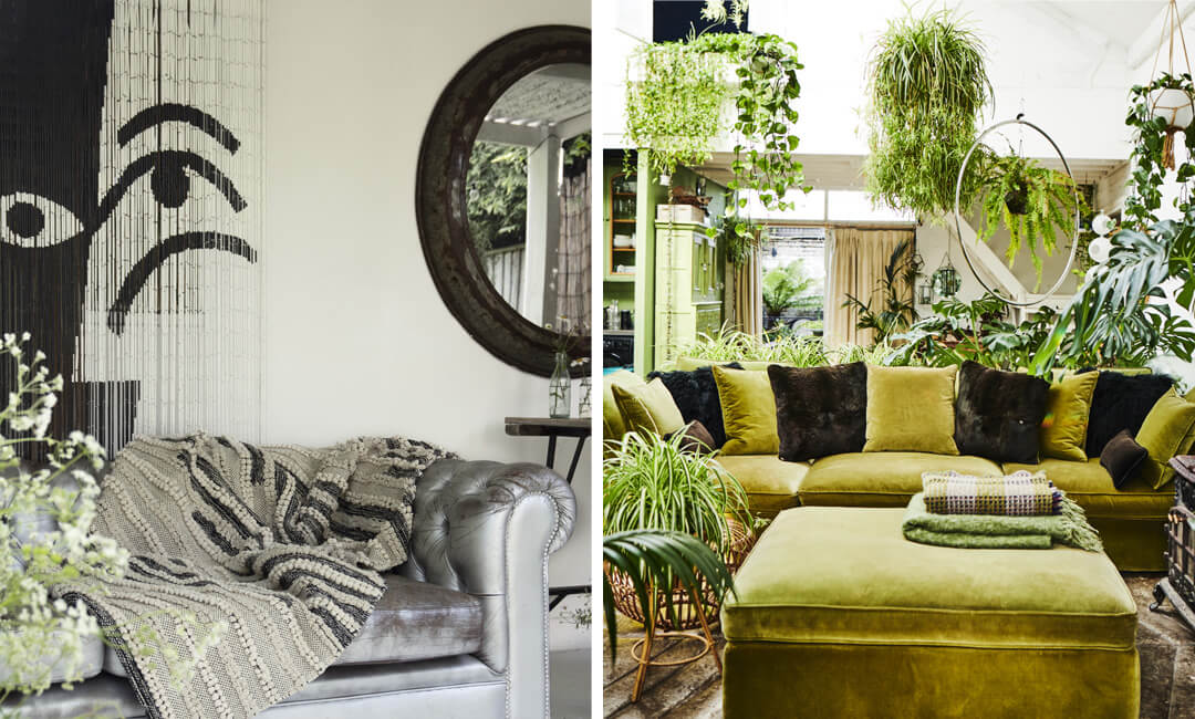 lifestyle images of garden room sofa ideas