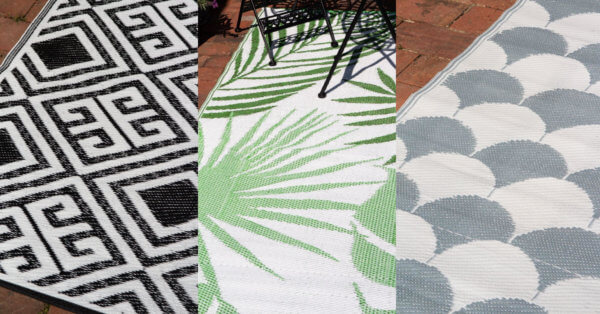 selection of outdoor rugs