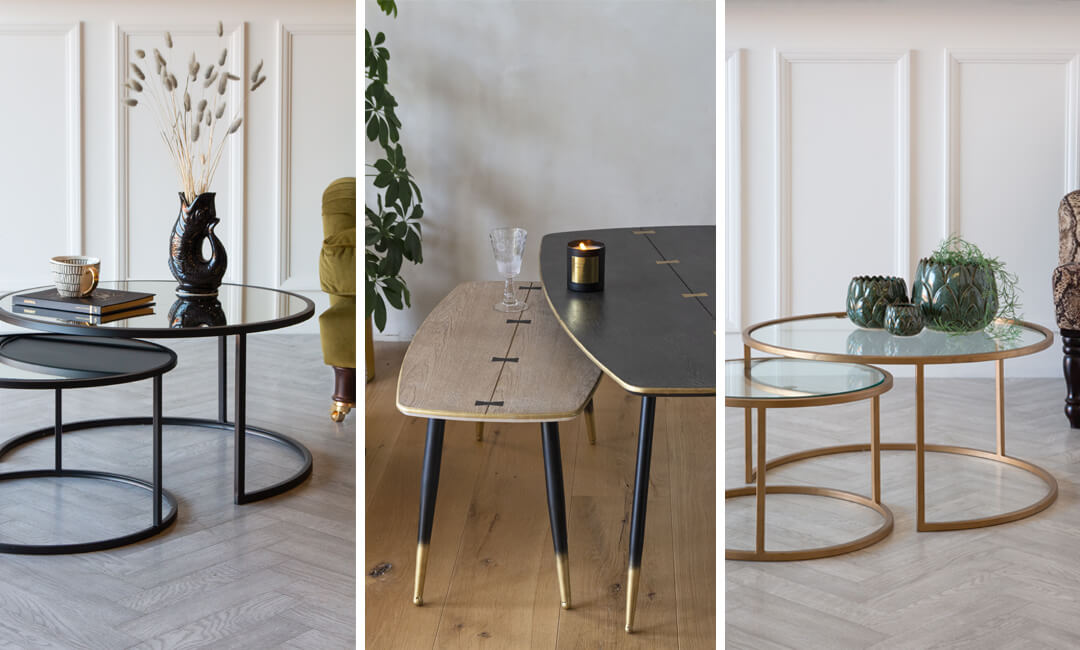 lifestyle images of nest table ideas for home furniture