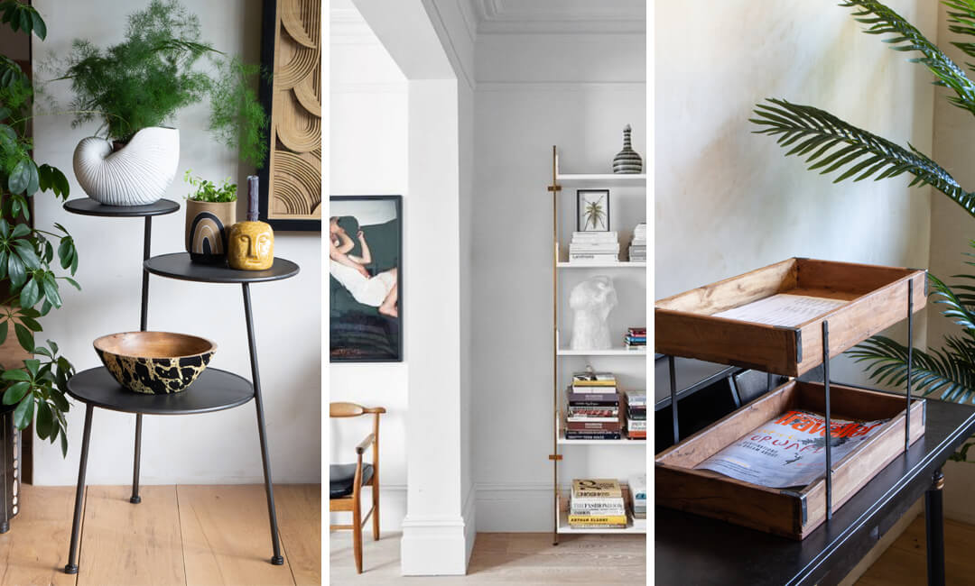 lifestyle images of shelving ideas for home furniture