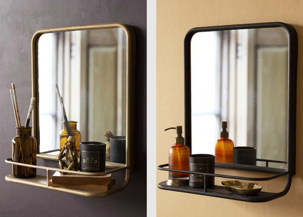 square-mirrors-with-shelf