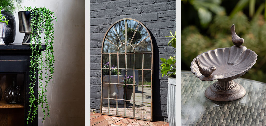 Garden Mirror Ideas