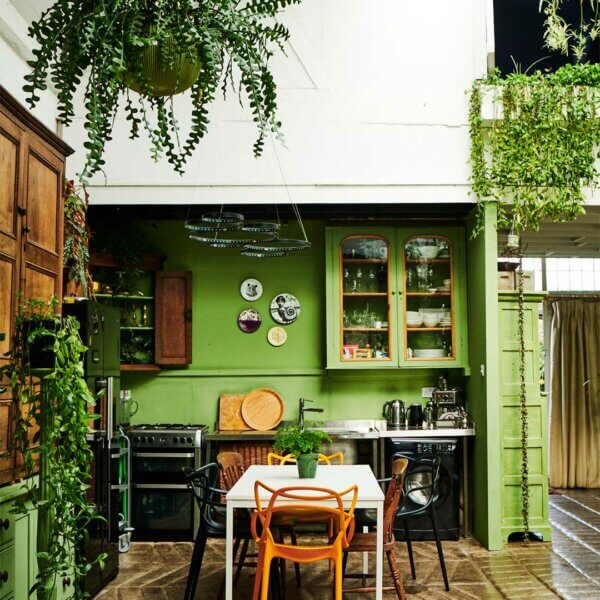 How To Introduce Green Into The Home