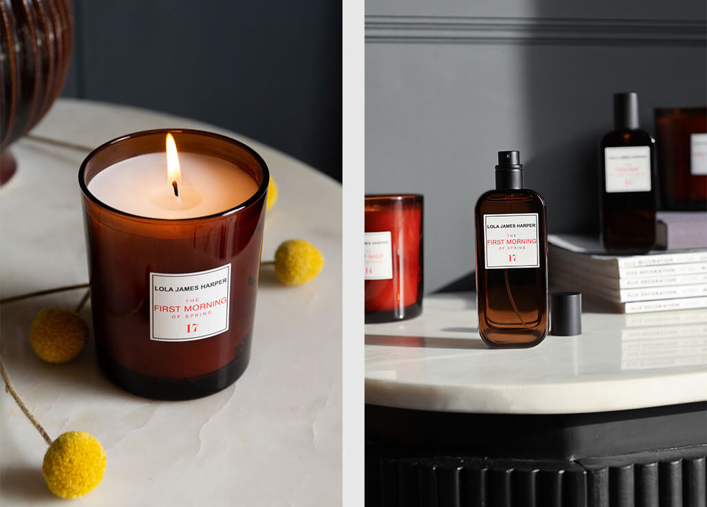 Lola James Harper First Morning Of Spring Candle