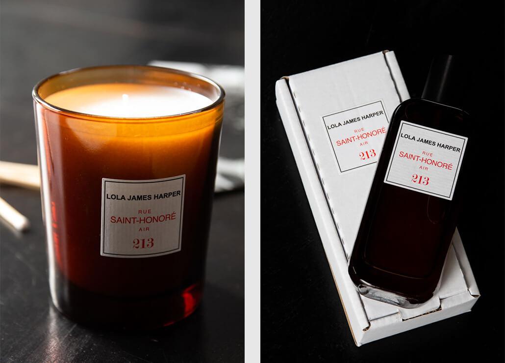 Lola James Harper Rue Saint Honore Candle